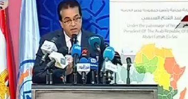 صورة خالد عبد الغفار: منتدى لمؤسسات التعليم العالى حول العالم بحضور الرئيس