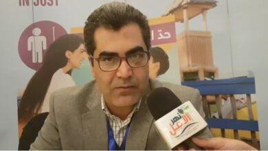 صورة لقاء مجله نهر الامل مع الدكتورمحمد المالكى استاذطب الاطفال ورئيس وحدة نقص المناعه جامعه الزقازيق