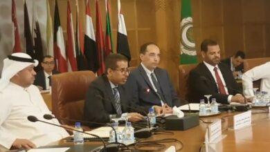 صورة كلمه الدكتور محمد بن على كومان الامين العام لمجلس وزراء الداخليه العرب
