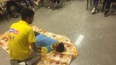 """صورة مبادرة """"بينا مصر بكرة أحلى"""" تعلم أطفال دور الرعاية الإسعافات الأولية"""