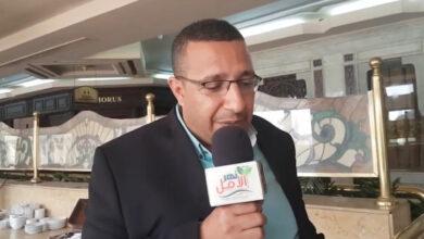 صورة لقاء مجله نهر الامل مع الاستاذ محسن ناجى مدير البرنامج القومى للطفوله المبكره