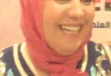 صورة لقاء مجلة نهر الامل مع د.نجاة الزنايدى كاتبة من المملكة المغربيه