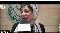 صورة لقاء مجله نهر الامل مع أ. سلمى البكري رئيسه مؤسسه التعليم اولا