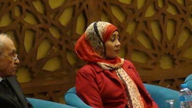 صورة عرض لاحوال اهل النوبة خلال جلسات الملتقى الثالث عشر لمنظمات المجتمع المدني