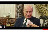 صورة لقاء مجلة نهر الامل مع د.يحى باقور امين عام اتحاد المهندسين الزراعيين العرب