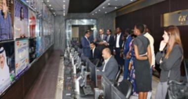 صورة الإذاعيون الأفارقة يزورون قطاع الإعلام بالداخلية وأكاديمية الشرطة