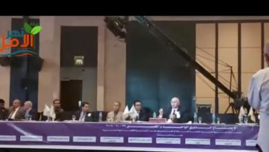 Photo of جزء من كلمه د.عماد العزازى عضو مجلس ادارة الاتحاد العربى لمكافحة التزييف والتزويير
