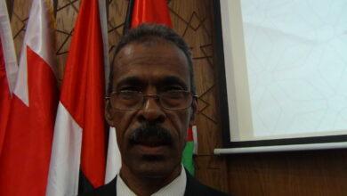 صورة عاطف محمد احمد يستعرض نقاط الضعف والتحديات الى تواجه خطط التدريب فى السودان