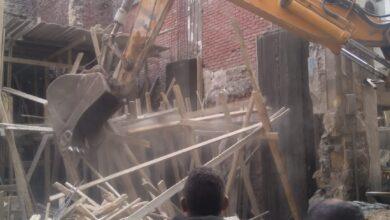صورة حملة بحي الخليفة للتصدي لمخالفات البناء