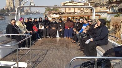 صورة شعار أبطالنا في قلوبنا علي ضفاف النيل بنادي الشرطة بالجبلايه