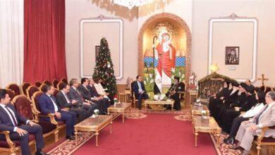 صورة في مقر الكاتدرائية.. رئيس الوزراء يهنئ البابا تواضروس الثاني بعيد الميلاد المجيد