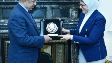 Photo of وزيرة الصحة تشهد توقيع بروتوكول مع الأكاديمية العربية للعلوم والتكنولوجيا لتأهيل وتدريب الكوادر البشرية