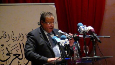 صورة أمين عام المجلس الأعلى للثقافة يؤكد على أهمية الشعر لتسجيل ثقافة الشعوب خلال افتتاح الملتقى الدولى الخامس