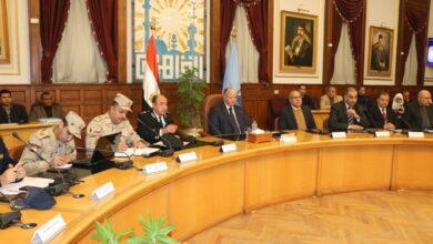 صورة محافظ القاهرة يتابع تجهيزات التدريب العملي المشترك «صقر 60» لمجابهة الأزمات والكوارث