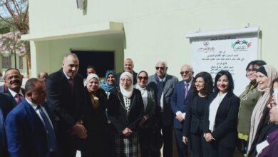 صورة افتتاح أعمال تطوير مدرسة كفر العلو بتكلفة 5 ملايين جنيه