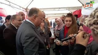 Photo of اللواء خالد عبد العال يستمع للمبتكرين من الشباب فى ملتقى توظيف المحافظة