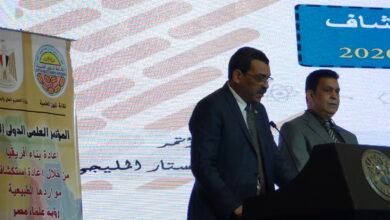 صورة سفير السودان يشيد بدور مصر الرائد فى مؤتمر نقابة العلميين