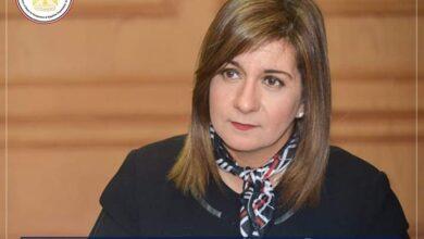 """صورة وزيرة الهجرة : رئيس الجالية المصرية القبرصية ساهم فى مبادرة """" احياء الجذور"""""""
