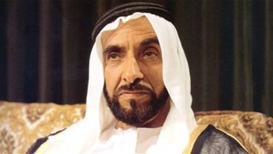 """صورة اليوم.. الإمارات تحتفل بسيرة """"حكيم العرب"""".. """"يوم زايد الإنساني"""" تجسيد لنهج نشر الخير في العالم"""