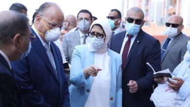 Photo of زيارة وزيرة الصحة لحى الأسمرات