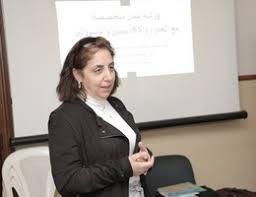 صورة بالصوت . ريتا كرم أمين المجلس العربى للطفولة بلبنان