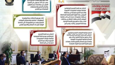 Photo of الحصاد الاسبوع لمجلس الوزراء