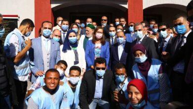 صورة مشروعات صحية وخدمية بمدينة طهطا